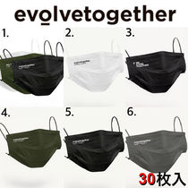 evolvetogether Multicolor 30-Pack Pleated Disposable マスク