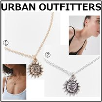 【URBAN OUTFITTERS】☆Moon Pendant Necklace☆Gold/Silver
