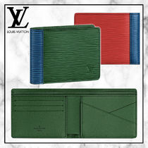 ◆Louis Vuitton 20SS 最新◆MULTIPLE WALLET 二つ折り財布◆緑