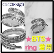 ☆BTS 着用☆ONEENOUGH★Feather of Angel Ring-Silver★リング