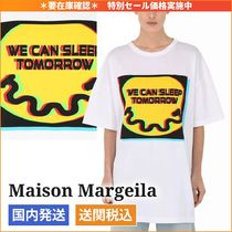 関税なし◆Maison Margiela◆We Can Sleep Tomorrow Tシャツ