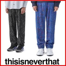 ◆thisisneverthat◆Floral Corduroy Pant◆正規品◆