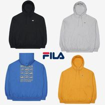 【FILA】20fw Over-fit Small Shoeロゴ Hoodie フーディ 4色