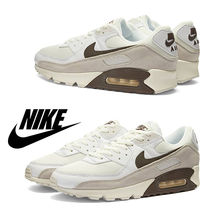 ナイキ Nike Air Max 90 Gel Muted Pops /White&Brown / 送料込