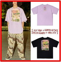 I AM NOT A HUMAN BEING(ヒューマンビーイング) Tシャツ・カットソー Seventeen Hoshi着用☆【I AM NOT A HUMANBEING】☆ロゴTシャツ
