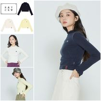 100円引きクーポン○◆ROMANTIC CROWN◆FRILL POINT KNITWEAR