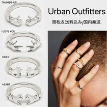 Urban Outfitters◆Queenie Cao Jewelry シルバーリング◆関税込