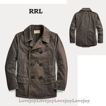 RRL ◇ Washed Canvas Peacoat ヴィンテージ風 コート