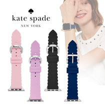 ◆Kate Spade◆Scallop silicone 38/40mm Apple Watch ベルト