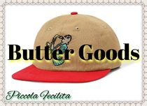 ★Butter Goods★パネル/刺繍/キャップ/調節可能/関税・送料無料