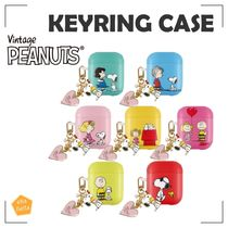 ★PEANUTS★SNOOPY TOGETHER AIRPODS KEYRING CASE