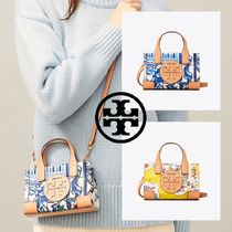 即発★TORY BURCH★ELLA PRINTED MICRO TOTE 2WAYバッグ
