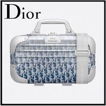 新作【DIOR】DIOR AND RIMOWA  ハンドケース Gradient Blue