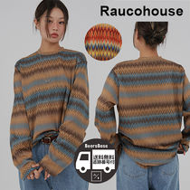 Raucohouse Western Color Mix Long Sleeve BBH422 追跡付