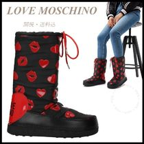 *LOVE MOSCHINO*Heart & Lips Ankle Boots 関税/送料込