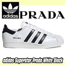 adidas x Prada  Superstar  White Black