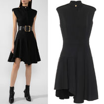 AM793 WOOL MINI DRESS