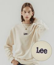 LEE(リー ) Tシャツ・カットソー 【LEE】SMALL TWITCH LOOSE-FIT CREWNECK IVORY
