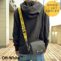 【国内即発】OFF WHITE★INDUSTRIAL CROSSBODYBAG♪