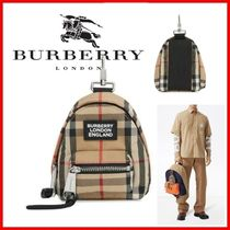 ◆Burberry◆Vintage check Backpack チャーム◆正規品◆
