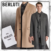 ◆Berluti20AW最新作◆Wool And Cashmere Double Face Coat◆2色