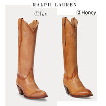 【Ralph Lauren】●大人気●Kiera Leather Cowboy Boot