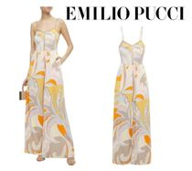 Emilio Pucci☆Crystal-embellished printed jersey wide-leg