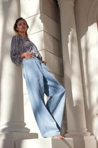 JEANS Z1975 WIDE LEG PLEATS