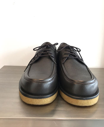 The Row フラットシューズ THE ROW ザ・ロウ レースアップシューズ 'Honore Derby' Brown