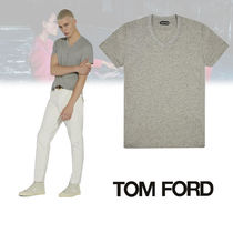TOM FORD MARL JERSEY VネックTシャツ