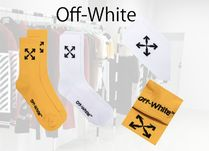Off-White ロゴ 靴下