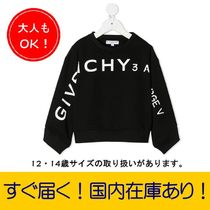 GIVENCHY(ジバンシィ) キッズ用トップス 【国内送関税込】大人もOK!GIVENCHY☆ロゴ スウェット/6~14y
