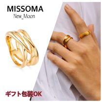 UK発《MISSOMA》18K GOLD CLAW ENTWINE リング