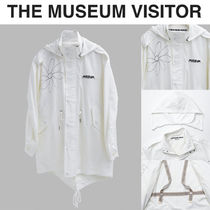 THE MUSEUM VISITOR(ザミュージアムビジター) アウターその他 [THE MUSEUM VISITOR] Flower Art Fish tail Jacket★ミリタリー