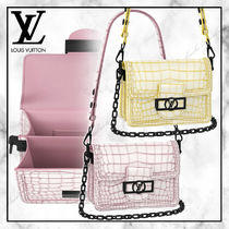 ◆Louis Vuitton 20SS◆MINI DAUPHINE アニマル柄バッグ ◆ 2色