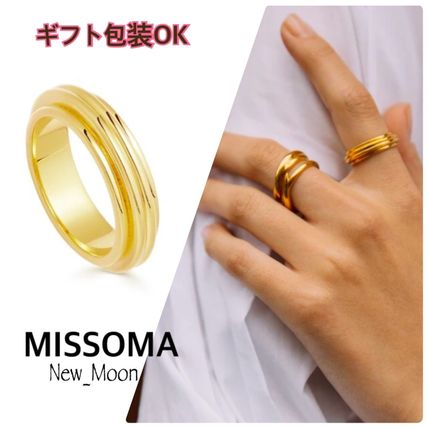 UK発《MISSOMA》Lucy Williams 18K GOLD RIDGE リング