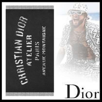 【20AW☆直営店買付】DIOR☆ATELIER ストール