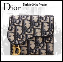 Dior(ディオール)☆ SADDLE LOTUS WALLET