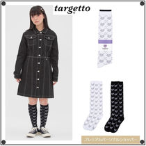 日本未入荷TARGETTO SEOULのTGT PATTERN KNEE SOCKS 2色セット
