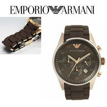 AR5890 Mens Sports Brown Rose Gold