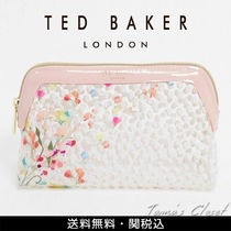TED BAKER(テッドベーカー) ポーチ 国内発送! Ted Baker 花柄 メイクポーチ