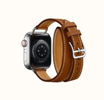 Band AppleWatch Hermes Double Tour 40 mm Attelage(Fauve)