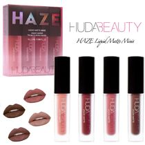 【HUDA BEAUTY】HAZE Liquid Matte Minis☆マットリップセット