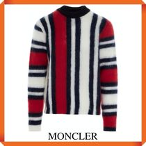2 MONCLER 1952 STRIPED MOHAIR SWEATER