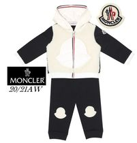 20/21AW【MONCLER】ロゴ付ボア&スウェットセットアップ☆3-36M