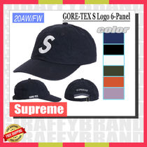【20AW/FW】 SUPREME  GORE-TEX S Logo 6-Panel [追跡有り]