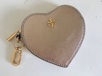 Tory Burch SAFFIANO HEART KEY FOB セール 即発送