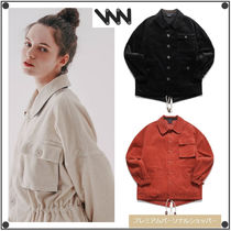 WV PROJECTのCookiedough corduroy fishtail Jacket 全3色