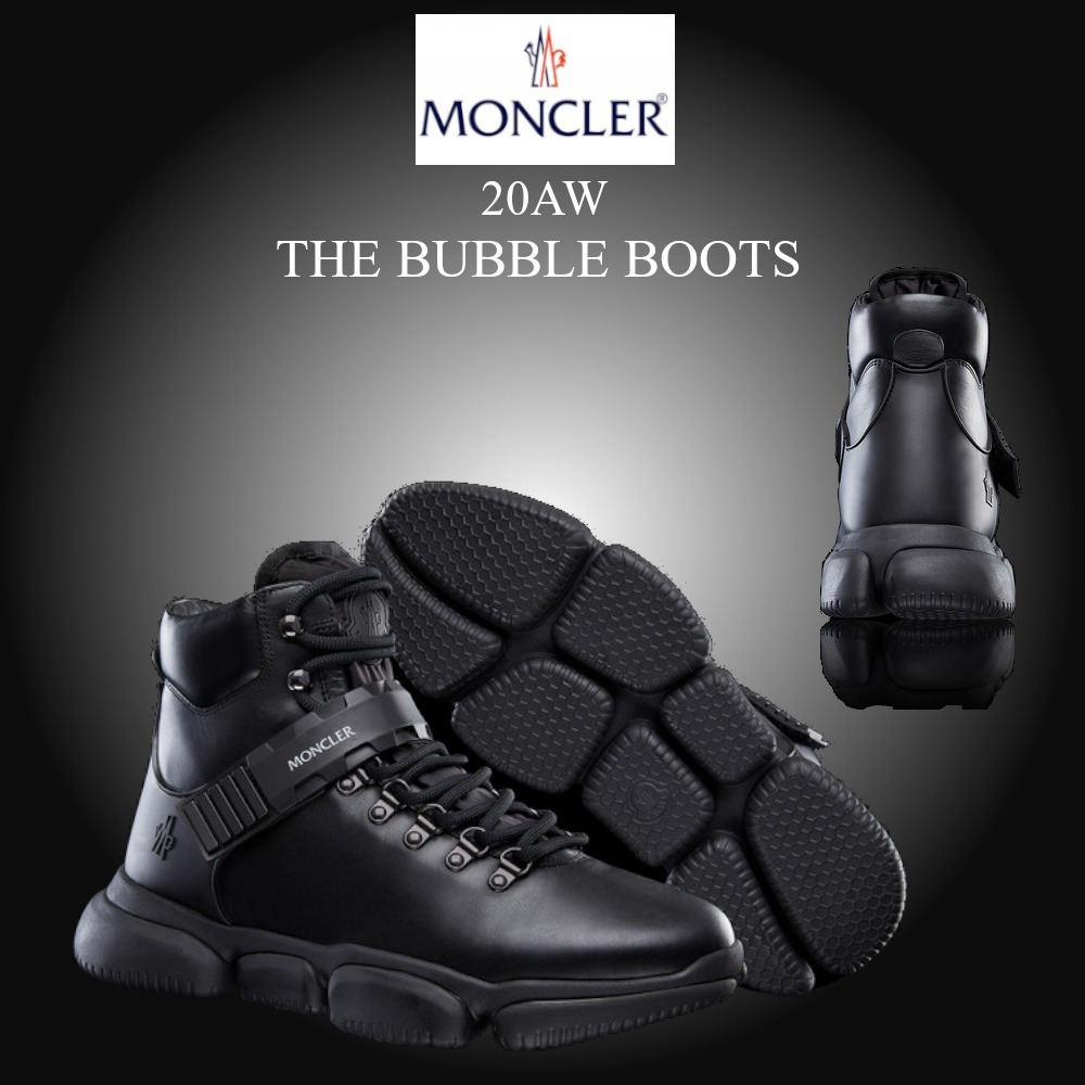 ★20AW★新作★MONCLER★THE BUBBLE BOOTS メンズスニーカー (MONCLER/スニーカー)  09A4M5000002SGL999