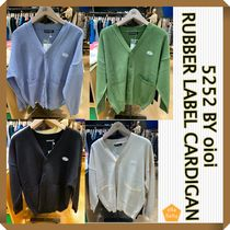 oioi korea(オアイオアイ) アウターその他 人気★ 5252 BY oioi ★ RUBBER LABEL CARDIGAN